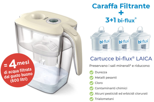 caraffe filtrante BIG roma shop laica