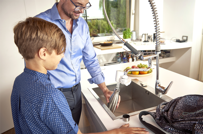 migliorare acqua del rubinetto filtrazione gusto buono laica