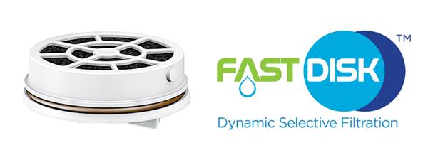 filtro fast disk laica acqua filtrata istantaneamente