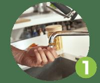 filtro per rubinetto venezia passaggio 1