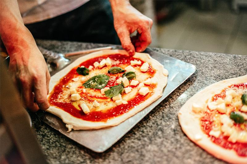pizza fatta in casa acqua filtrata